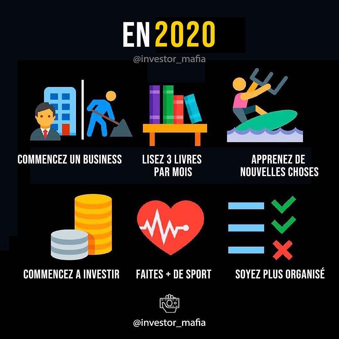 6 choses à faire en 2020