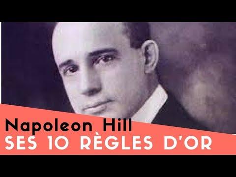NAPOLEON HILL – SES 10 RÈGLES D'OR MÉCONNUES