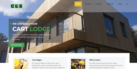 Cart lodges Suffolk new websiteCart lodges Suffolk new website