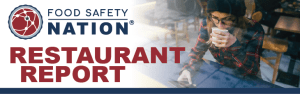 food safety nation logo with restaurant report newsletter header