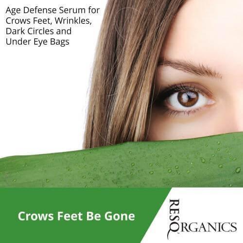 Anti-Aging Night Serum: Age Defying Anti-Wrinkle Face & Eye Serum - ResQ Organics Pets