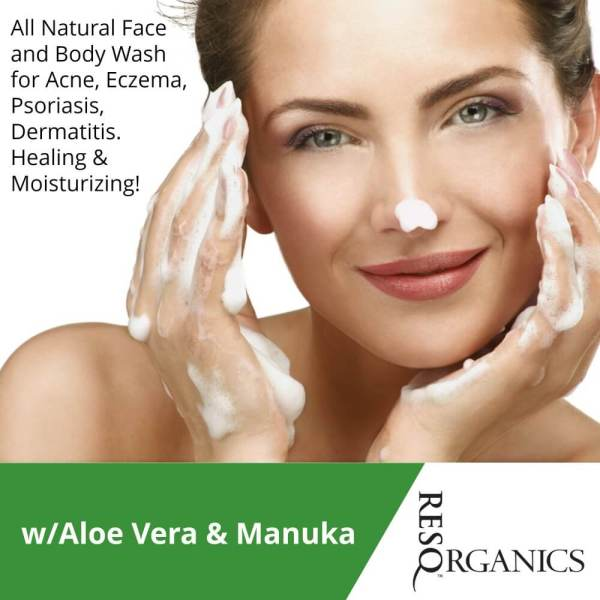 Healing and Moisturizing this Face and Body Wash is a must have!