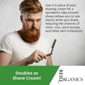 Face and Body Wash for Men: Doubles as Shave Cream! - ResQ Organics Pets