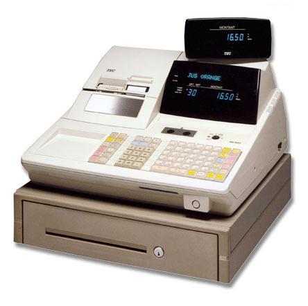 La caisse enregistreuse alpha numérique