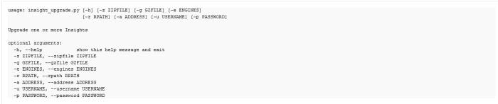 Premier script pour automatiser la mise à jour des sondes Insight