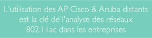 Sniffer 802.11ac depuis AP Cisco ou Aruba