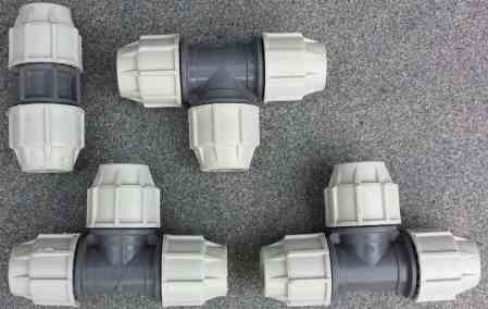 PE Schraubfittings – Plasson PE Verschraubung 25 mm