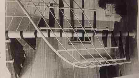 Spindeltreppe aus Stahl
