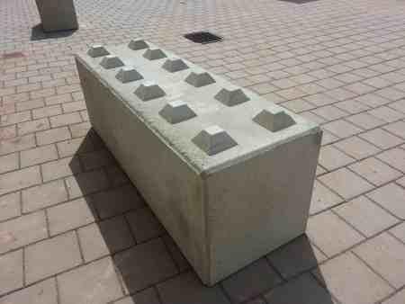 BBloxx — Beton-Schnellbausteine, Betonblocksteine, Betonblock mit Noppen