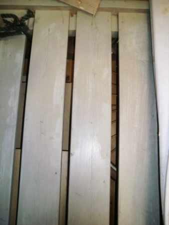 Geländer / Eisengestell (Vierkant) verzinkt für Balkongeländer (Gestell)