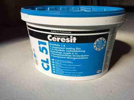 Ceresit CL-51 15kg Dichtfolie 1K