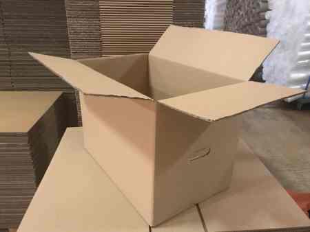 Umzugskartons 57cm x 35x 40cm, 48Liter, bis 45kg, Qualität Wellpappe 2