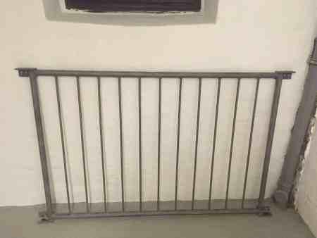 3 Absturzsicherungen für französische Balkone