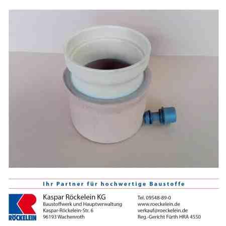 Kamin – Wassersammler – OSMOTEC isostat. 140 mm