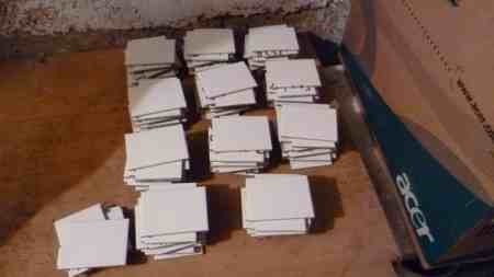 Fliesen weiß-matt 115 Stück
