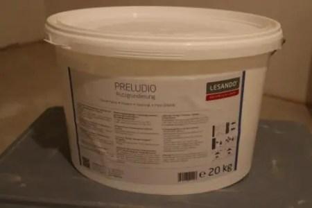 Preludio Grundanstrich für Regips/Beton – Putzgrundierung Bio