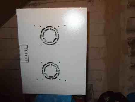 Netzwerkschrank / Wandgehäuse 19 Zoll, ca.11 HE