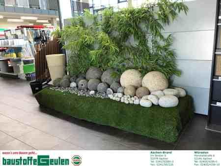 Granitkugeln: Reste und Sonderware