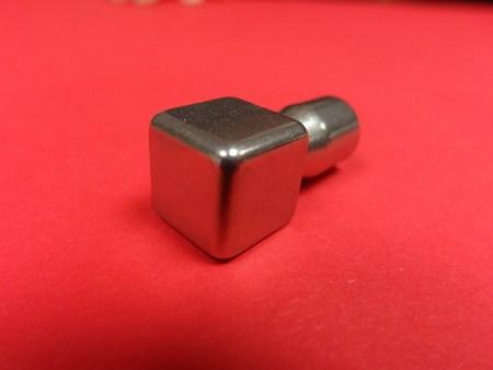 Eckstück Fliesenprofil Edelstahlschiene Quadro Edelstahl glanz 10 mm