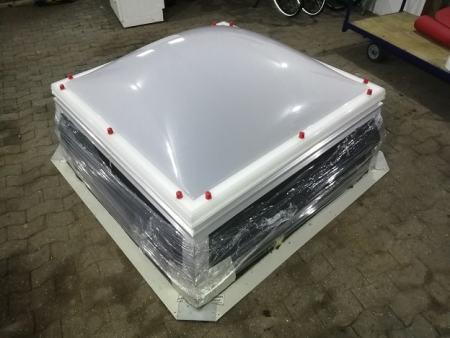 Jet Lichtkuppel mit Durchsturzsicherung 150 cm x 150 cm