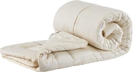 Sleep & Beyond Topper Washable Wool Mattress Topper King