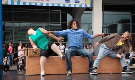 Upswing at Dance Village
