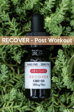 RECOVER Post Workout • RESTART CBD • Austin, Texas