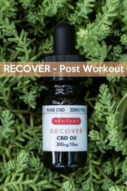RECOVER Post Workout • RESTART CBD • Austin, Texas