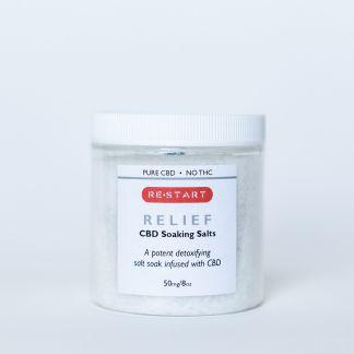 RESTART Relief CBD Soaking Salts