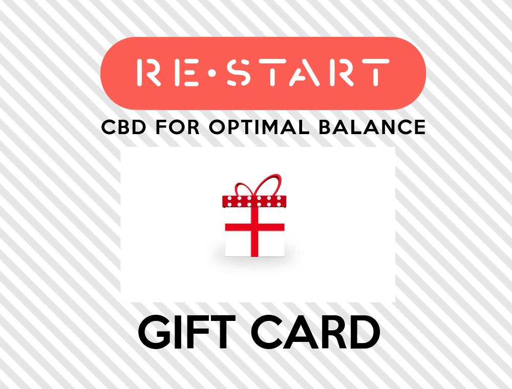 RESTART CBD GIFT CARDS