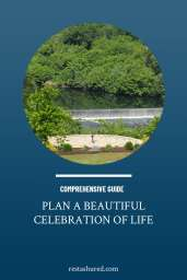 Plan a Beautiful Celebration of Life Image with Green Trees