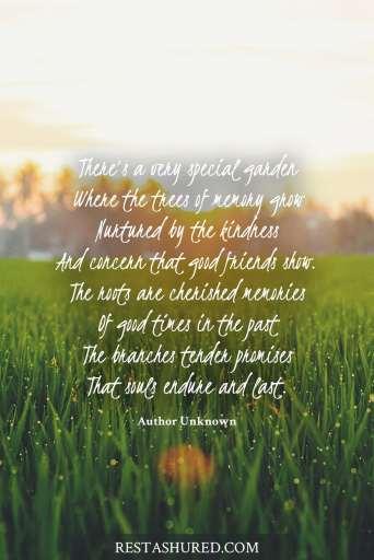 Special Garden Poem