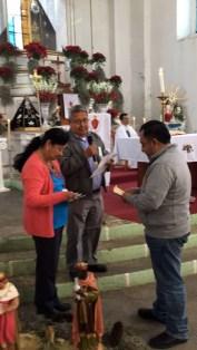 Entrega del premio del 3er. Lugar de la Rifa. Sr. Marco Espinosa.