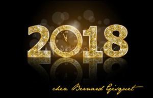 Fêtez le nouvel an 2018 chez Bernard Gisquet