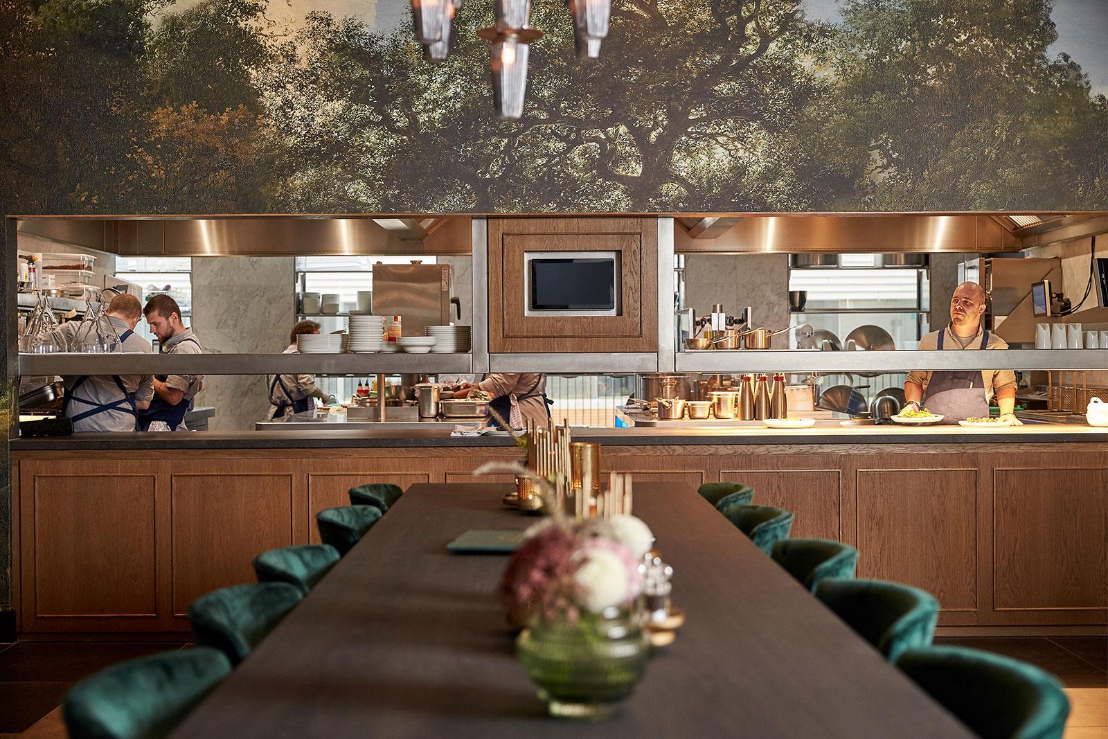 Open Keuken Restaurant Amstelle