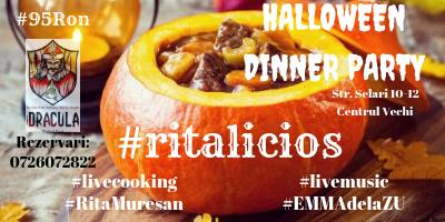 Ritalicios Halloween Dinner Party @iDracula