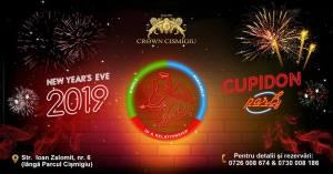 Revelion 2019 Crown Cismigiu! CUPIDON PARTY