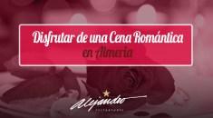 Cena romántica en Almería