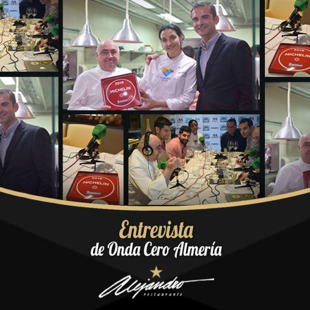 Onda Cero Restaurante Alejandro