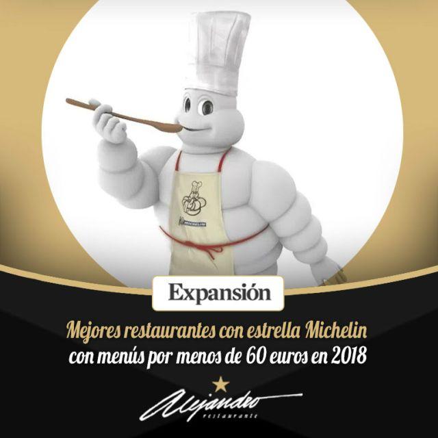 Restaurantes Michelin menús económicos