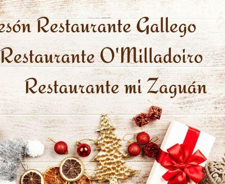 Nuestros establecimientos permanecerán cerrados los días 25 de diciembre y 1 de enero