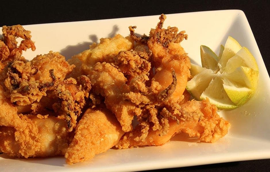 Restaurante Boccalino calamares