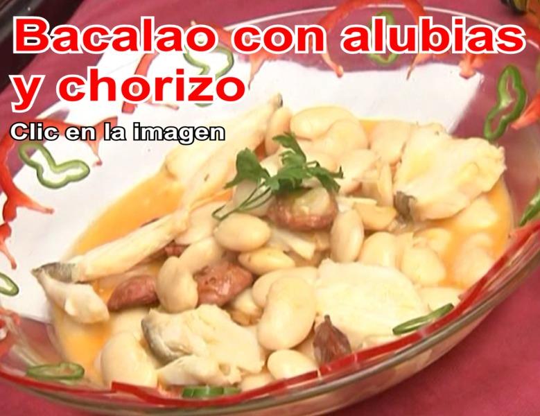 Vídeo de gastronomía: Bacalao con alubias y chorizo del Restaurante de Córdoba Sociedad Plateros María Auxiliadora