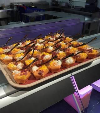 Manolo Bordallo en la Jornada Gastronomica sin Gluten para Celiacos de Carrefour Zahira