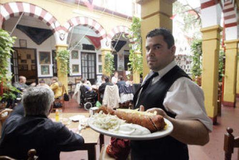 Flamenquin sin gluten en el Dia de Cordoba