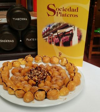 17-Bunuelos al viento sin gluten del Restaurante Sociedad Plateros Maria Auxiliadora