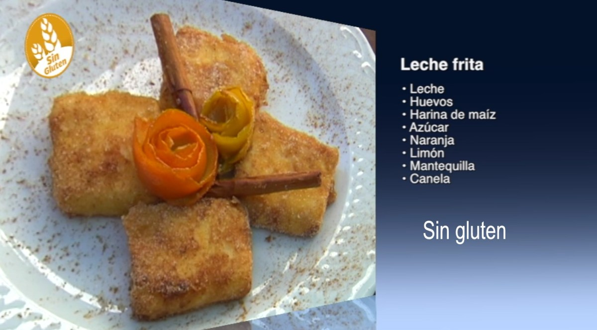 Receta de Leche frita sin gluten, como se hace