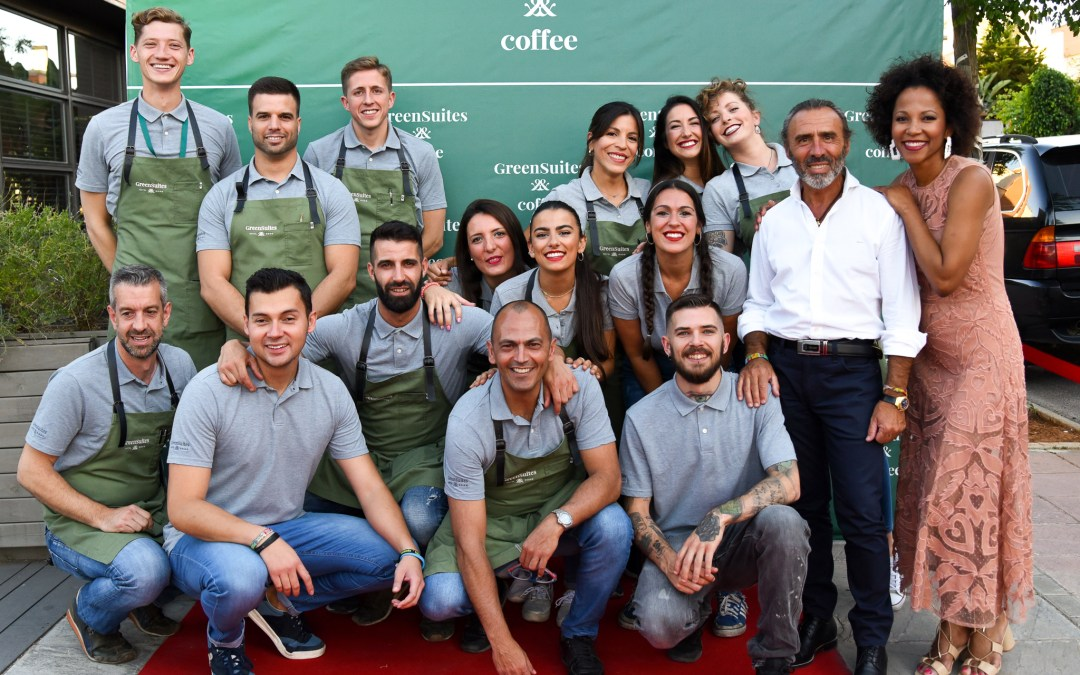 GreenSuites Coffee Celebrates Its 1st Anniversary Surrounded by Friends