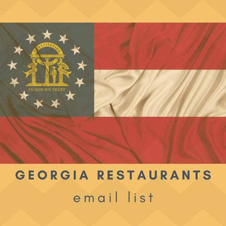 Download Georgia Restaurants Email List