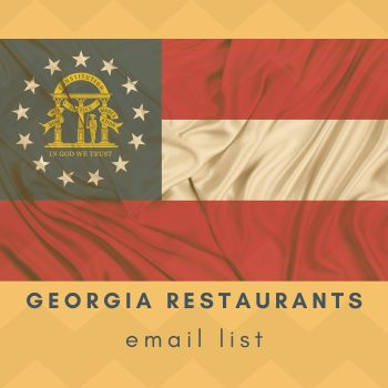 Download Georgia Restaurants Email List